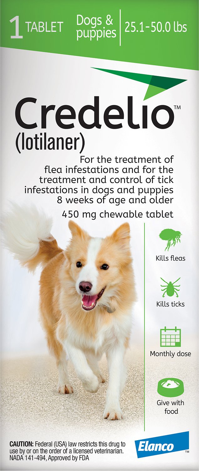 credelio flea and tick prevention